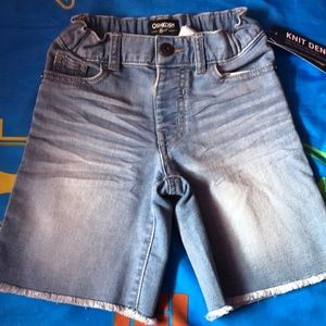 OshKosh B'gosh 4T Denim Shorts Nwt